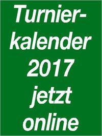 Turnierkalender 2017 in der aktuellen Version